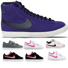 Kids Boys Girls Infants Nike Toddlers Velcro Sports Casual Trainers Shoes Sizes