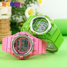 Waterproof Multifunction Digital Children Watch Alarm Date Sport Wristwatch C3A9