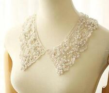 DIY Vintage Boho Women Lace Bead Detachable Collar Wrap Tie Necklace Choker