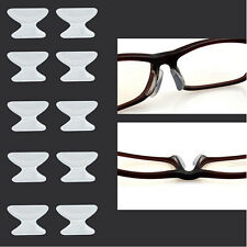 5 Pairs High Quality Anti-Slip Silicone Nose Pads for Glasses Spectacles UK