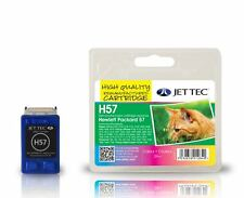 HP57 Colour Remanufactured Printer Ink Cartridge H57