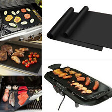 BBQ Non-stick Grill Mat Barbecue Cake Baking Mats Grilling Cooking Easy Reusable