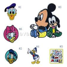DIY Cartoon Mickey Duck Embroidered Applique Iron On Patch Sew Cloth Accessories