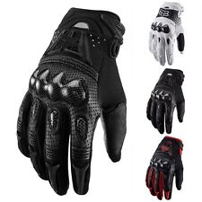 Carbon fibe Motorcycle Mountain Bike Cycling Racing Motocross Full Finger Gloves