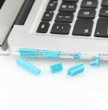 "Silicone Anti Dust Plug Ports Cover Set Macbook Retina 13"" 15"" Air 11"" 13"" CGE"