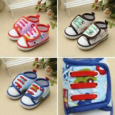 Newborn Baby Kids Boys Girls Soft Sole Casual Sneaker Toddler Shoes Boots 0-18M
