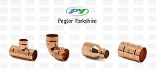 YORKSHIRE SOLDER COPPER FITTINGS STRAIGHTS, TEES, REDUCERS & ELBOWS 15mm & 22mm