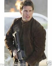 Tom Cruise Mission Impossible Distressed Leather Jacket