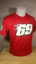 NICKY HAYDEN MotoGP/SBK Rider Official Merchandise - T-shirts - Red & Black