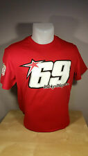 NICKY HAYDEN MotoGP/SBK Rider Official Merchandise - T-shirt - Red