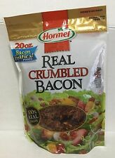 20oz Hormel 100% Real Crumbled Bacon Bits Pizza Salad Pasta Gluten Free Less Fat