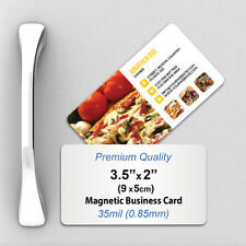 1000 Custom 35mil Thick Business Card Fridge Magnets with Your Design/Logo