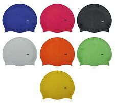 CHEX 100% Silicone Plain Kids Boys Girls 3-7 Yrs Grade A Strong Swimming Hat Cap