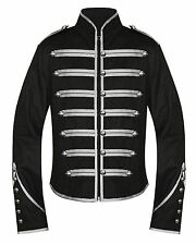 Banned Military Drummer Jacket Black Parade Goth Punk Adam Ant Style