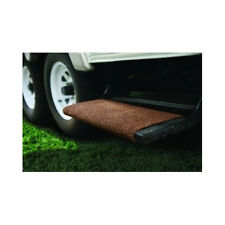 "Camco RV Brown Wrap Around Step Rug 18"" Trailer Camper Parts Motorhome Stair NEW"