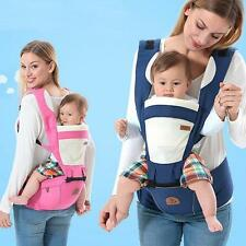 Quality Goods ! Baby Carrier Breathable Ergonomic Wrap Sling Backpack + Hip Seat