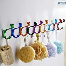 Space Alumimum Wall-mount Hat Towel Coat Bags Hook Hanger Holder Home DIY Rack