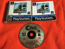 Croc legend of the gobbos - Playstation 1, PS1, PSX - Complete - PAL - VGC!