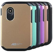 AG Slim Hybrid Armor Case Cover for TracFone NET10 StraightTalk LG 306G LG 305C