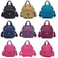 New Women Handbag Nylon Waterproof Multiple Zipper Pockets Shoulder Bag Y1O7