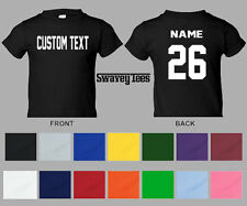 Personalized Name & Number YOUTH Custom Jersey T-shirt Tee shirt Swavey Tees