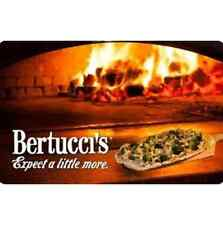 Bertucci's eGift Card - $25 $50 $100 - Email delivery