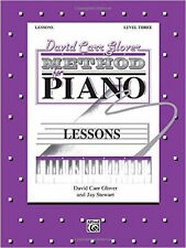 David Carr Glover Method for Piano Level 3
