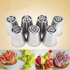 NEW Russian Icing Piping Nozzles Tips Cake Decorating Sugarcraft Pastry Tool