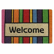 Fashion Welcome Door Mat Indoor Entrance Doormat Area Carpet Non-slip Bathmat