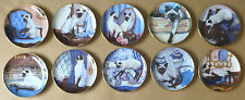 FRANKLIN MINT Siamese Cat Collector Plates (Individually Priced)