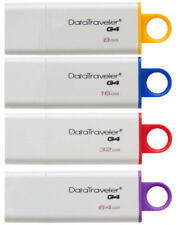 Kingston DataTraveler 8GB, 16GB, 32GB, 64GB USB 3.0 DTIG4 Memory Flash Drive Lot