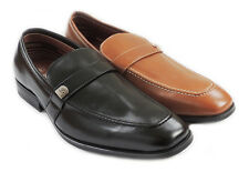 NEW MENS PENNY LOAFERS BOAT SLIP ON LEATHER LINED COMFORT DRESS SHOES M19501