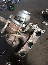 08 BMW 335XI E90 3.0L FORWARD TURBOCHARGER TURBO BOOST EXHAUST MANIFOLD ASSEMBLY