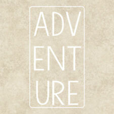 Adventure Bumper Sticker Window Laptop Tablet Funny Quote Car Travel Graphics