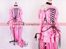 Chobits Chi chobit Lolita Dress Draggle-tail cosplay costume anime Sweet Gothic