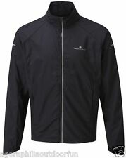 RONHILL MENS PURSUIT RUNNING JACKET: Wind Resistant, Breathable Top with DWR