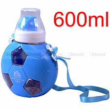 Blue Football Baby Sippy Cup Children Sports Bottle for European Championship