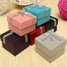 Jewellery Gift Boxes Bracelet Necklace Ring Display Pendant Earring Storage Case