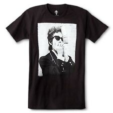 """Bob Dylan """"OLD SCHOOL"""" T-Shirt Black NWT Authentic & Official"""