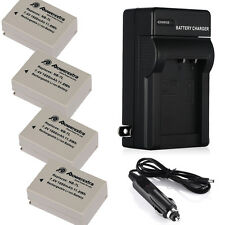 Battery + Charger for Canon NB-7L NB7L Powershot SX30 IS G10 G11 G12 1600mAh New