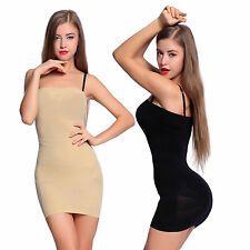 Tummy Control Tube Slimming Shaper Body Dress Underwear Slip Seamless