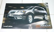 2010 ACURA MDX NAVIGATION SYSTEM OWNERS MANUAL 10