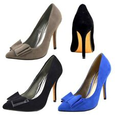 Womens Ladies Stilletto High Heel Classic Party Looks Smart Court Pointy Shoes