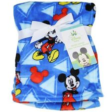 BRAND NEW**DISNEY MICKEY OR MINNIE MOUSE**BABY BLANKET