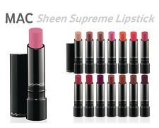 MAC Sheen Supreme Lipstick 0.12 oz / 3.6 g Your Choose Colors 100% Authentic NIB