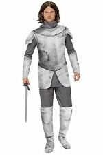 New Mens Medieval Knight In Shining Armour Fancy Dress Costume Medium GOT style