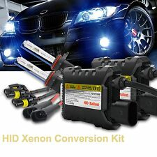 HB4 9006 HID XENON LIGHT BULB+BALLAST CONVERSION KIT 55W 3000k 5000k 6000k 1000K