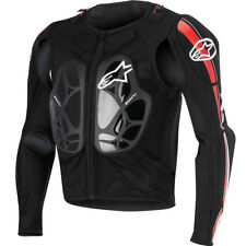 Alpinestars NEW Mx Bionic Pro Suit Black Red White Motocross Body Armour Jacket