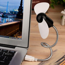 Flexible USB Mini Cooling Fan Cooler For Laptop Desktop PC Computer Gifts Lovely
