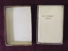 1957 New Testament - Bible - Signed by Harry S. Truman